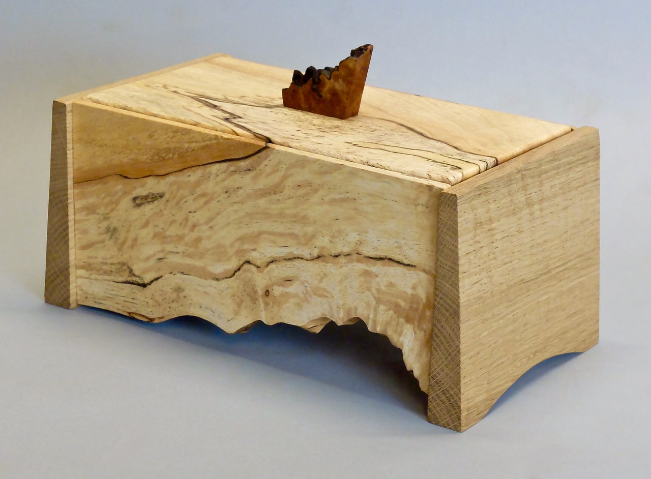 Natural Edge Jewellery Box