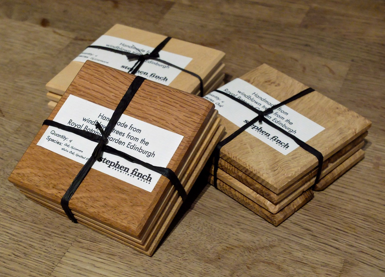 Wood Drinks Coasters
