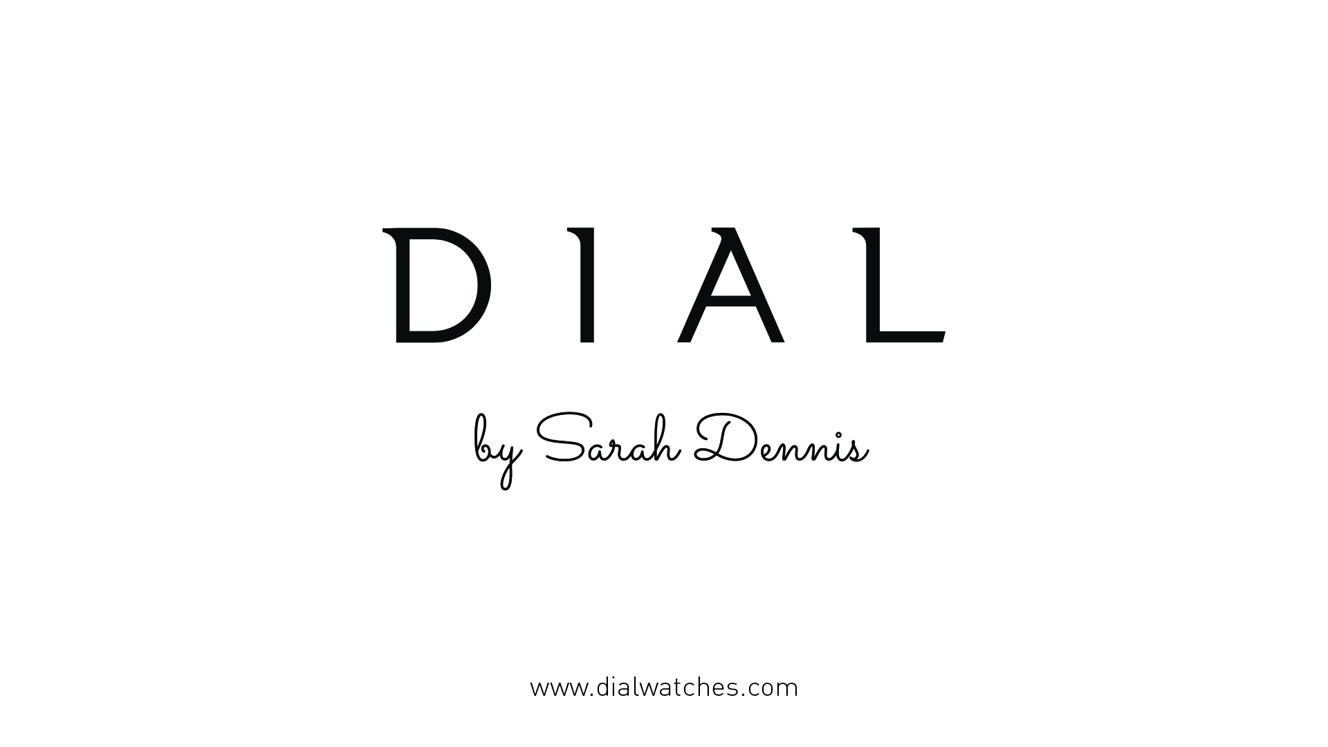 Copy of Dial_LogoWithArtist_Sarah_Bearddesign
