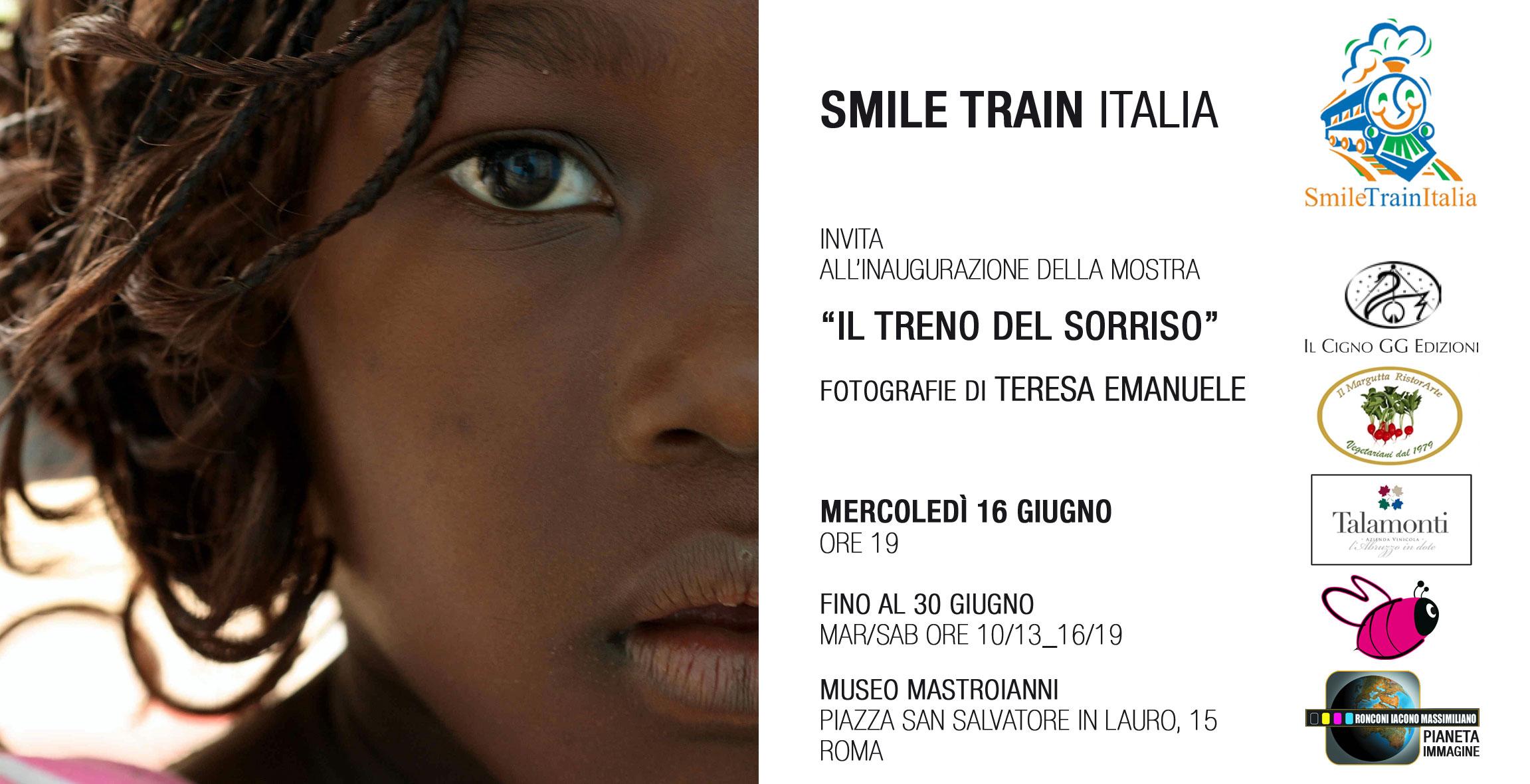 Il Treno del Sorriso - Museo Mastroianni, Rome, 2010