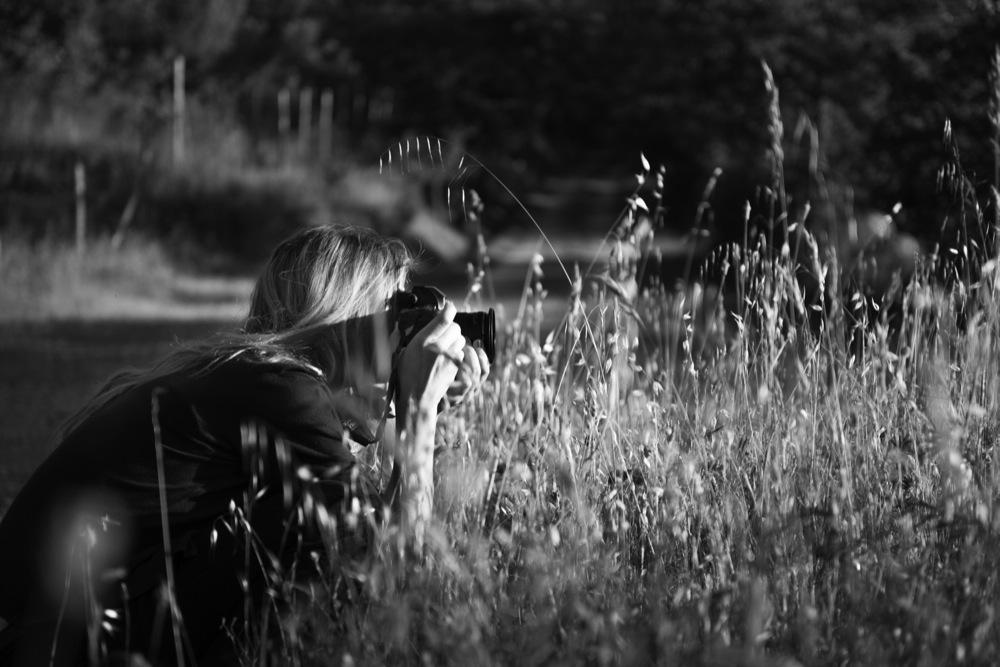 Shooting in Sarteano, Siena, 2014 (Photograph by Matteo Basilé)