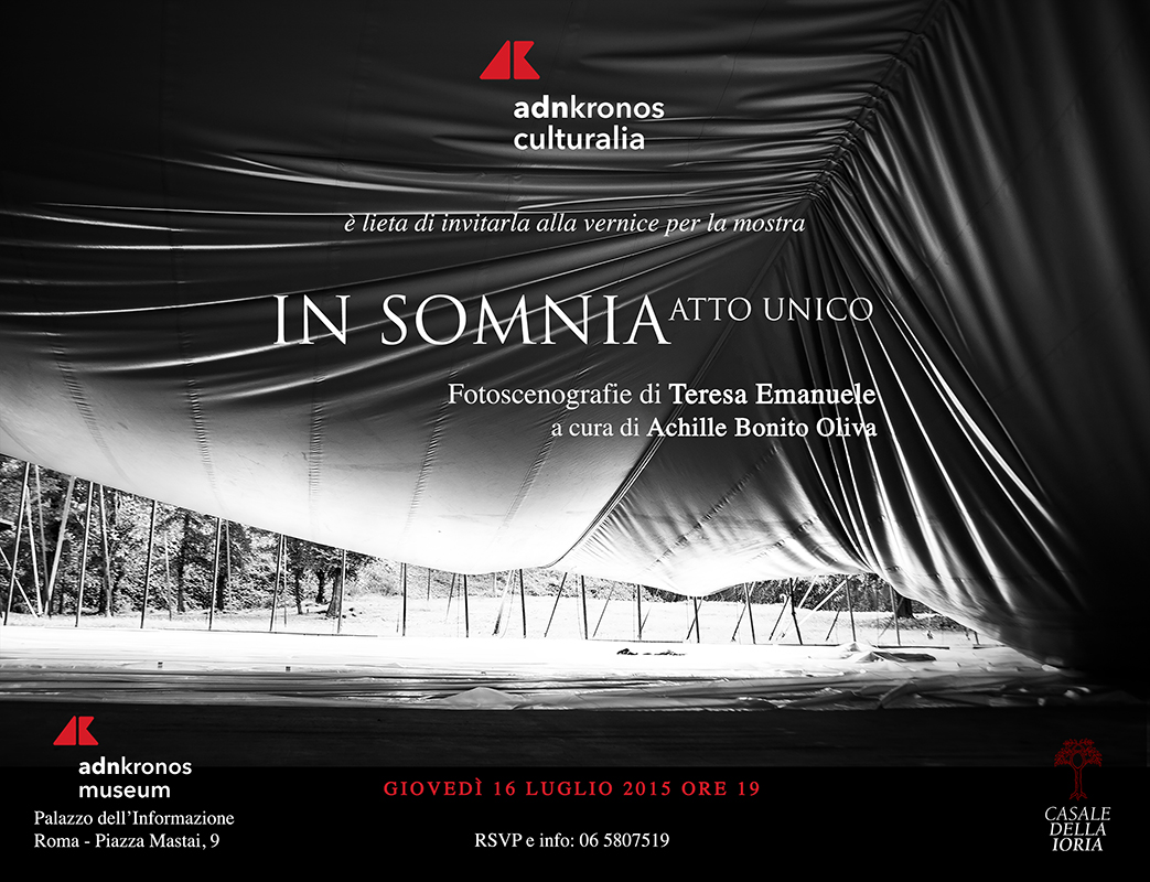 IN SOMNIA - Atto Unico - Adnkronos Museum, Rome