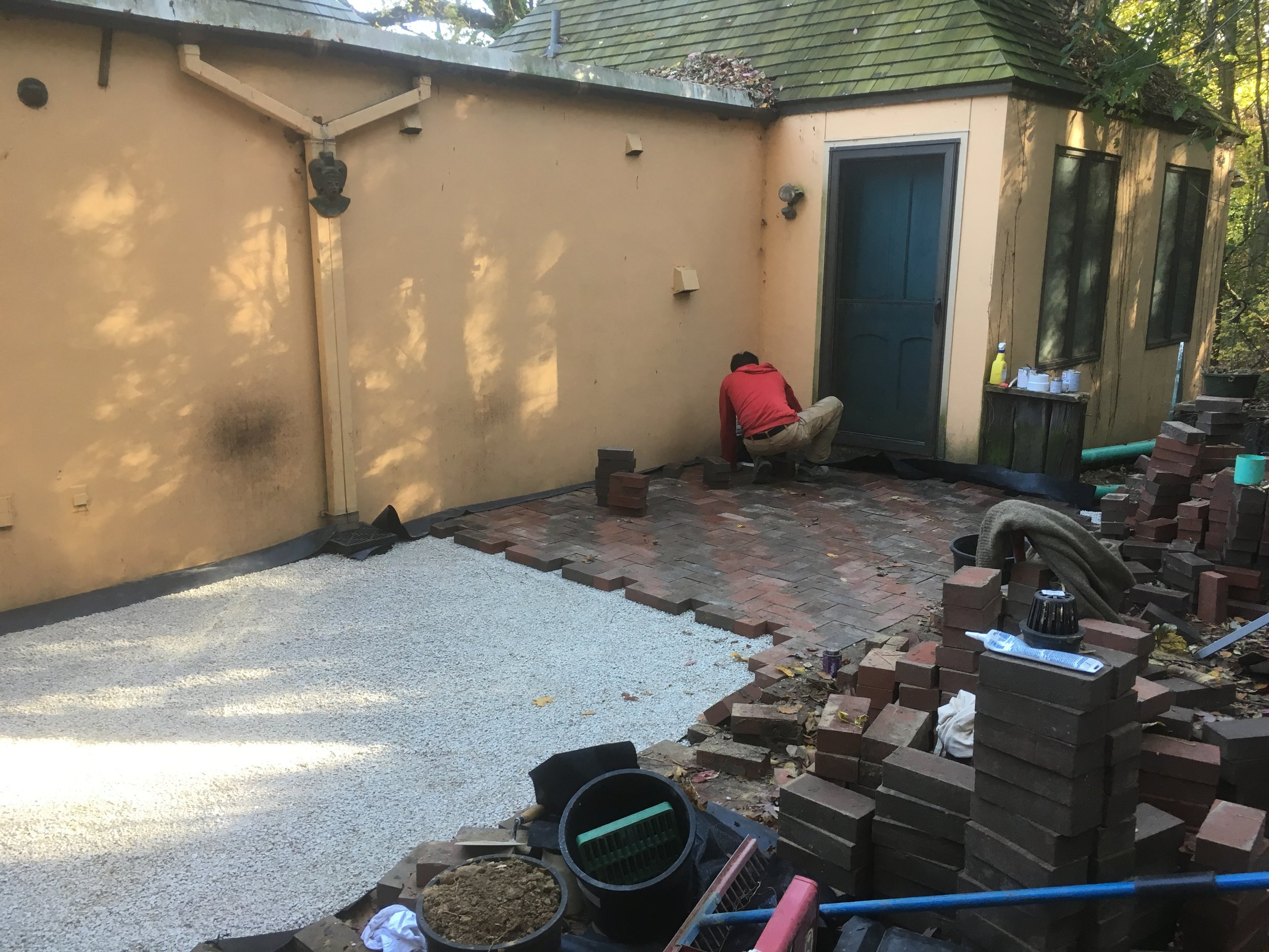 Shorewood Hills, WI Brick Patio Repair