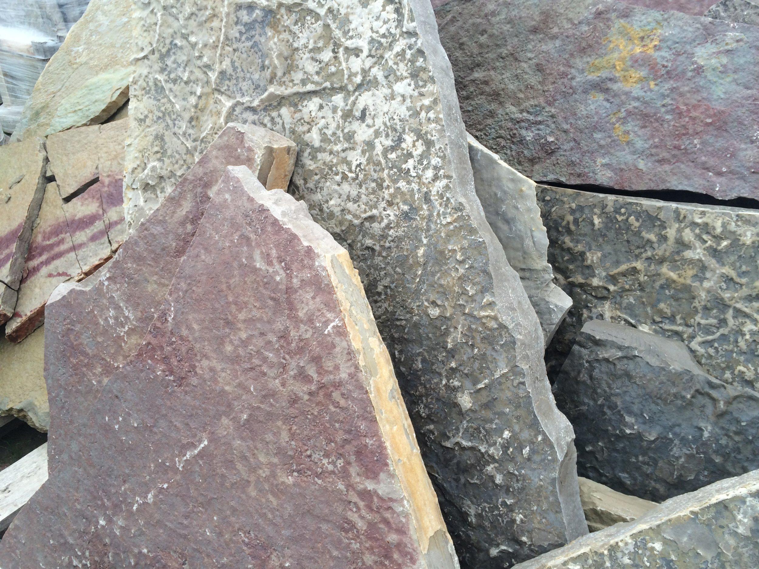 Irregular Calico Flagstone