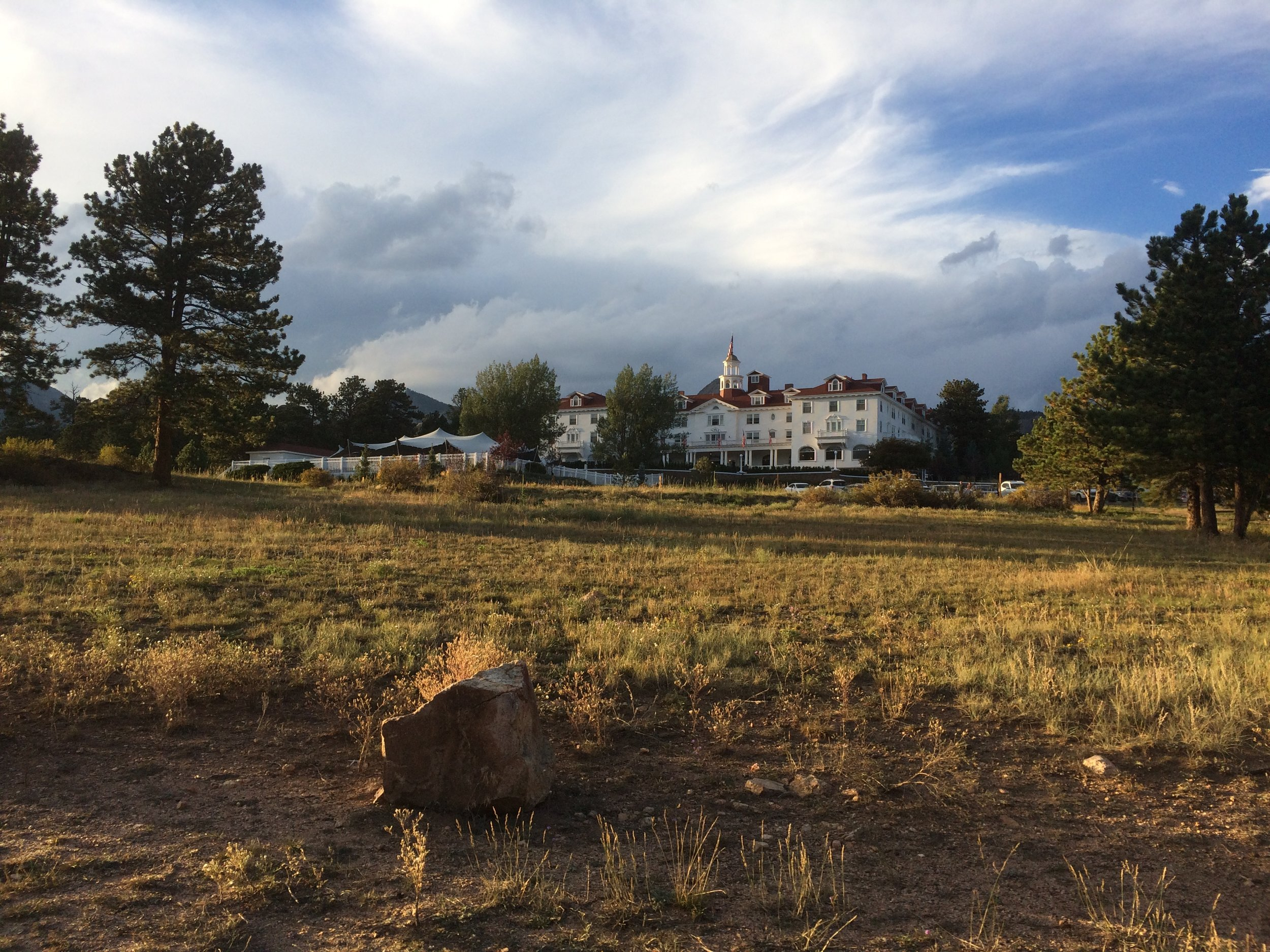 The Stanley Hotel of The Shining fame.