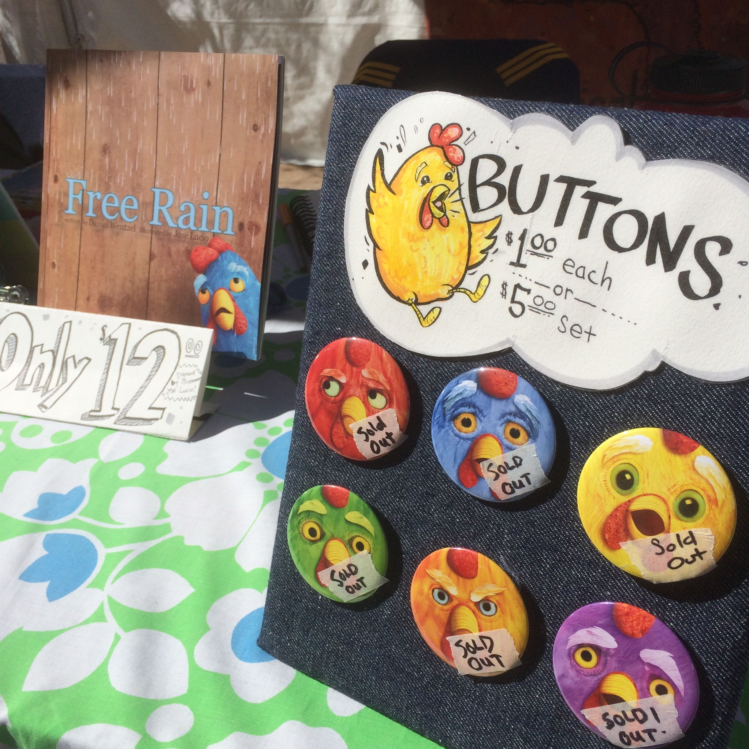 The last chicken button sold in Vegas.
