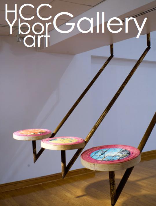 Kendra Frorup installation in Ybor City HCC Gallery