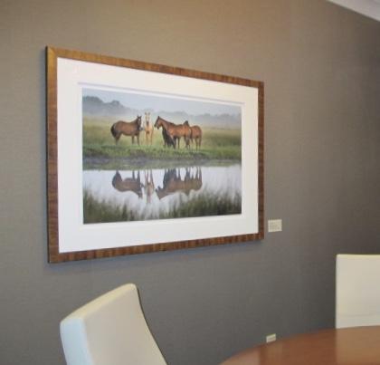 Carlton Ward,  Horses Reflecting