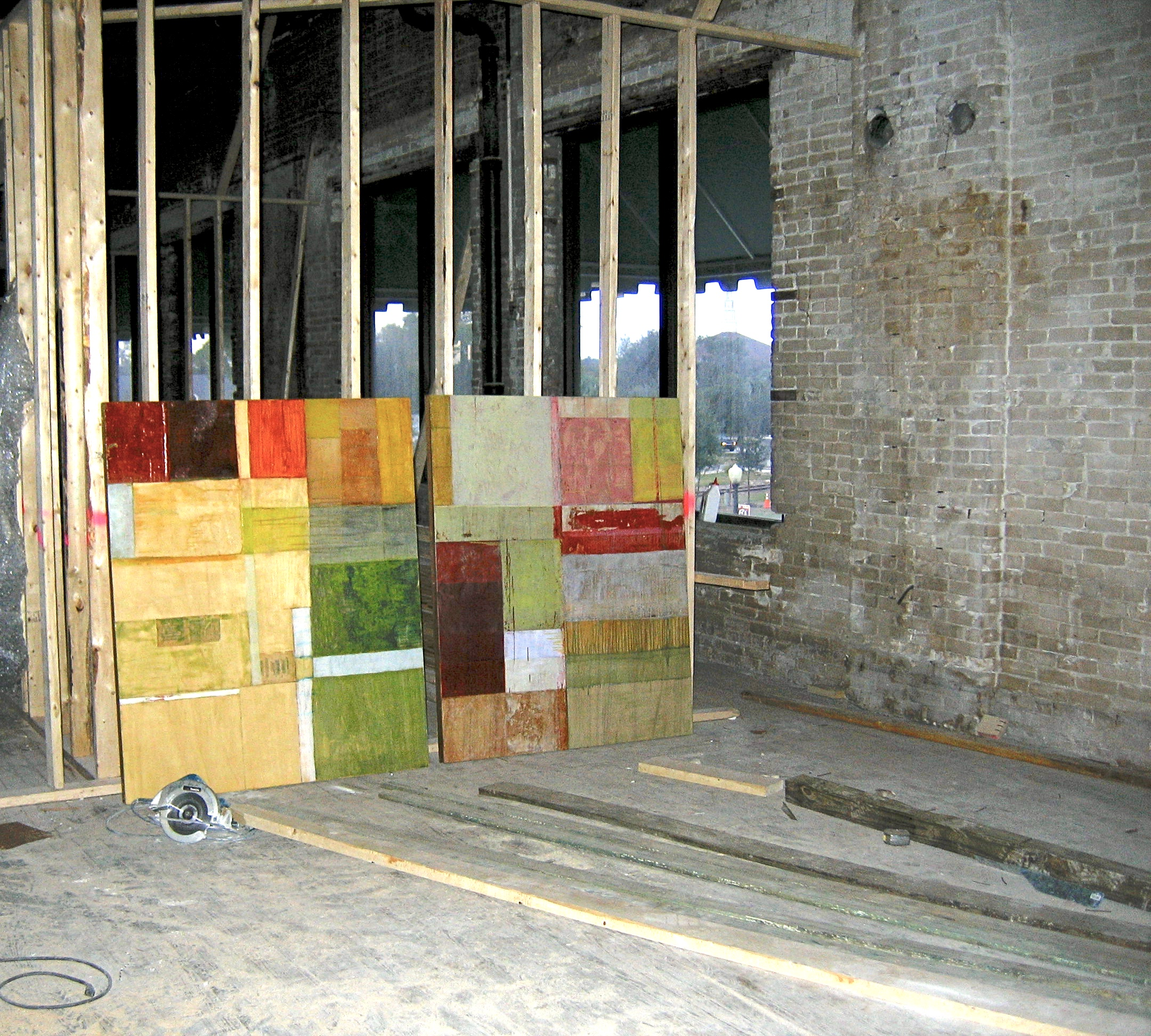During construction, the Allyn Gallup Gallery of Sarasota loaned two pieces by Tremain Smith to guide the overall collection.