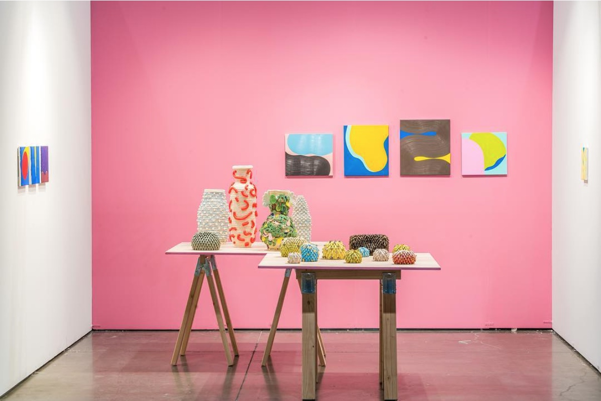 Installation inspiration from Mindy Solomon Gallery
