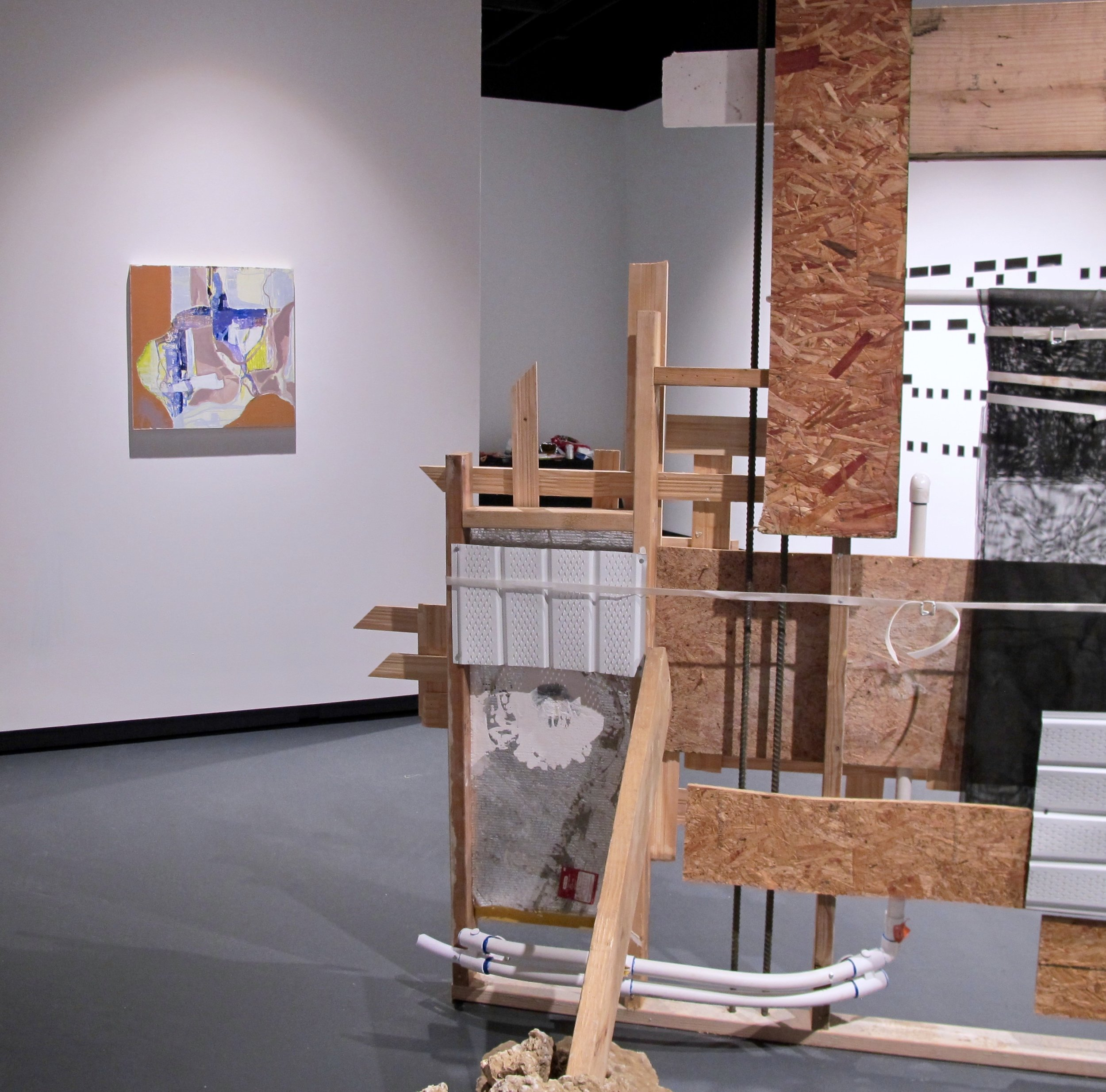 """""""There from Here"""" USF Carolyn M Wilson Gallery thru Sept 20"""