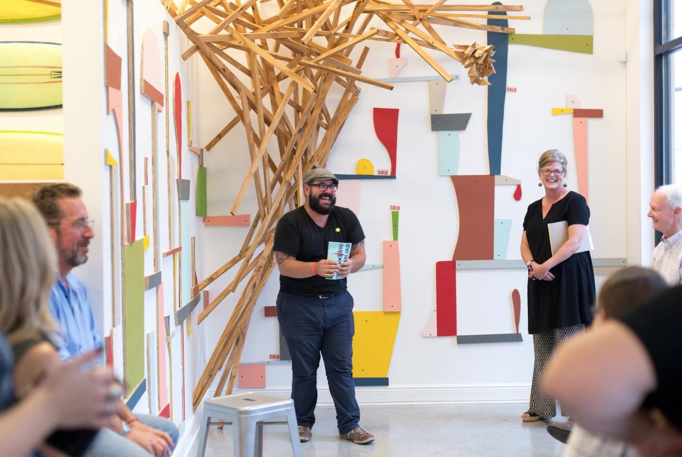 Artist Talk with Ry McCullough Oct 9 | Image, Jaime Aelavanthara