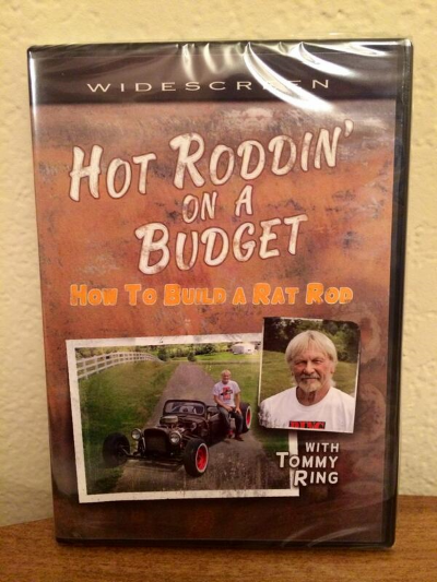 """""""Hot Roddin' on a Budget"""" is a an entertaining and educational look into the Hot Rod World and Rat Rod Culture."""