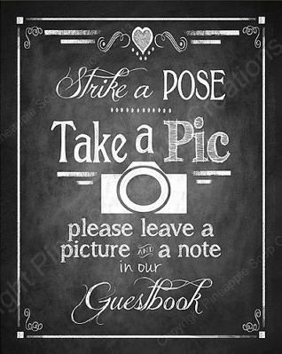Photo Guest Book Sign by BeforeYouSayIDo available on Etsy