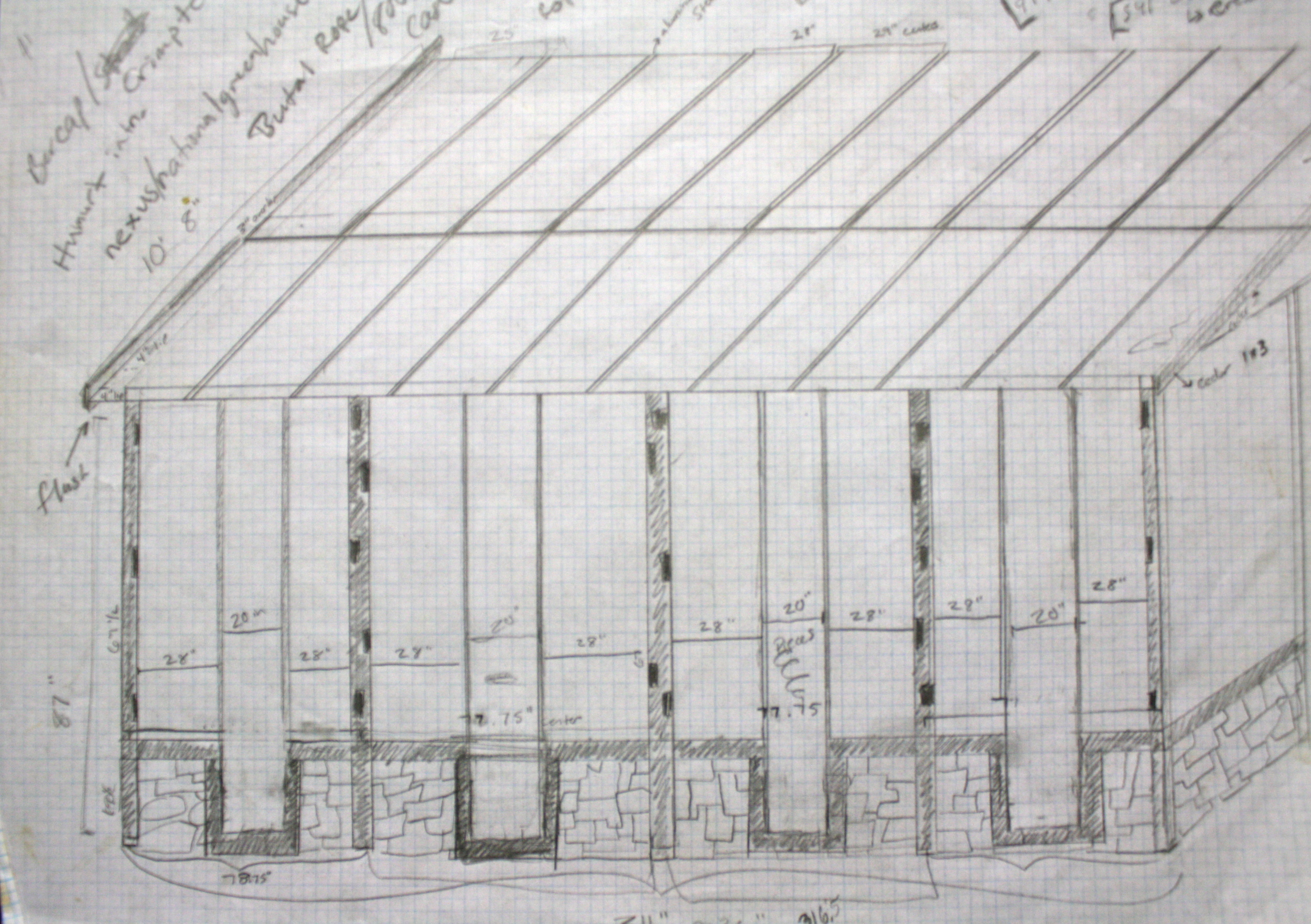 Side Profile Sketch