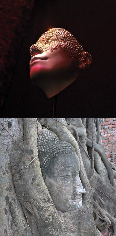 As Above, So Below   Face (Val Garland mask) / Face (Ayuthaya)