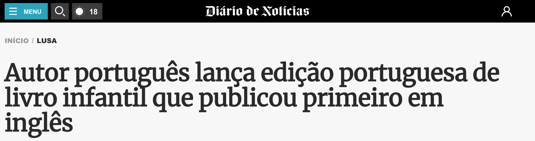 Diário Notícias  - 24 Setembro 2018