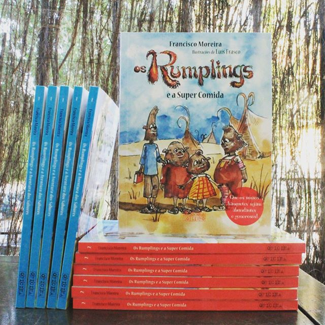 Os @therumplings já são uma coleção.📕📕 Vol. II - Os Rumplings e a Super Comida - Amanhã numa livraria perto de si! 😁🎉🍪