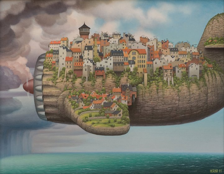 surrealismart :   Low cost air lines 2011    Jacek Yerka