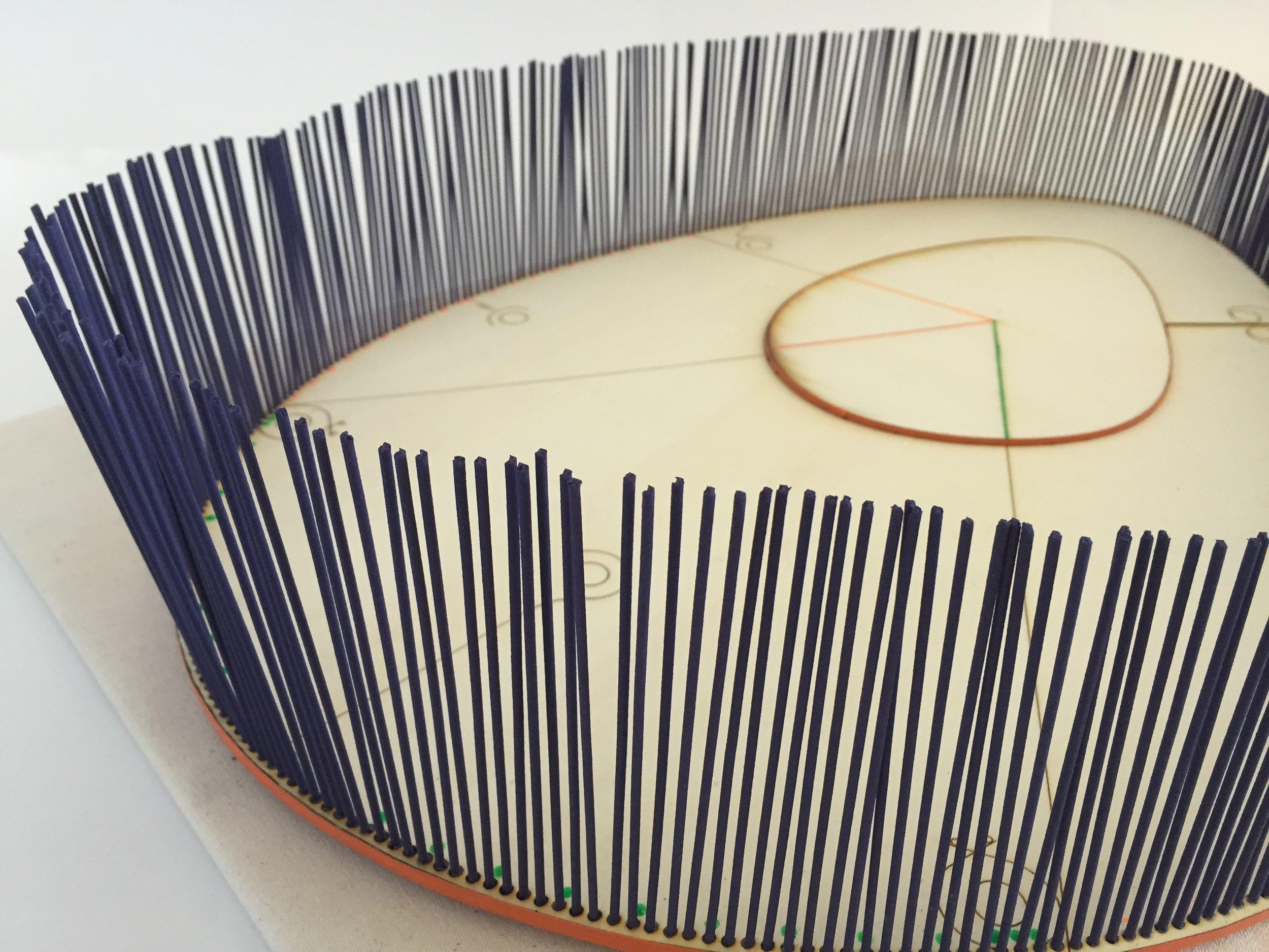 Anthophila Alamanc: detailed view of craftsmanship.
