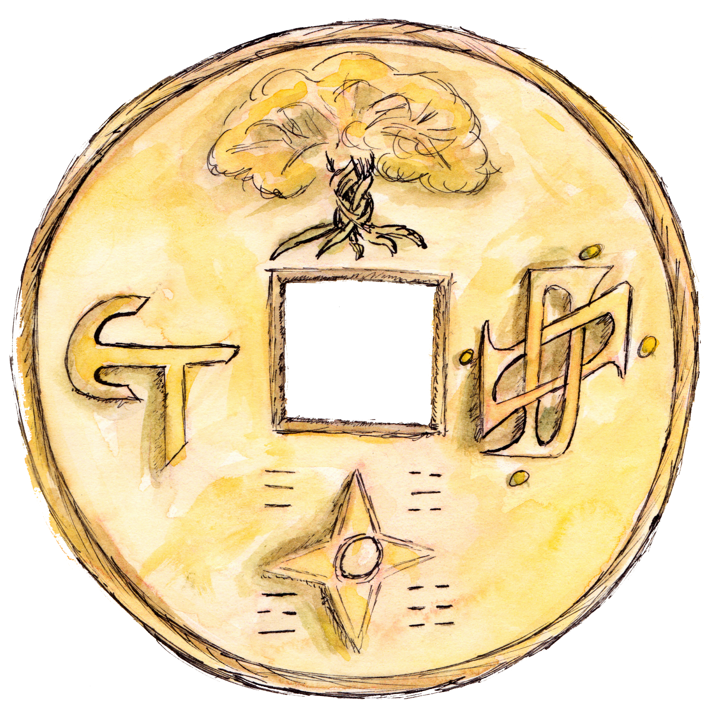 This coin is physically carried by many big players in the Trader's Union