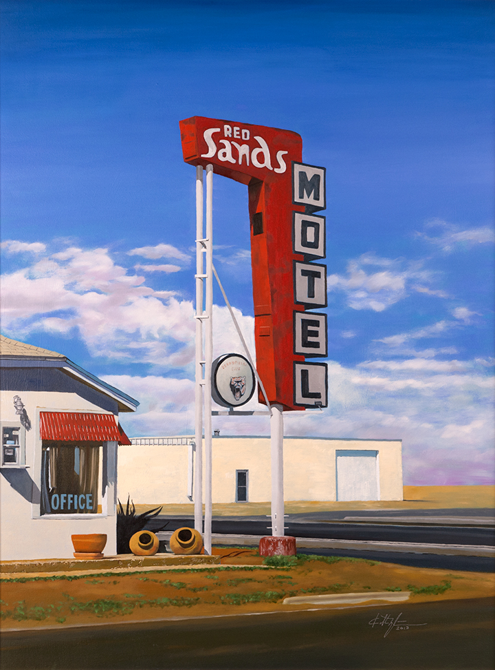 """Red Sands Motel"""