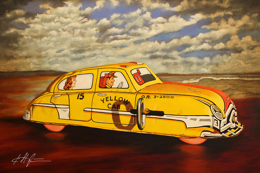 """Big Yellow Taxi"""