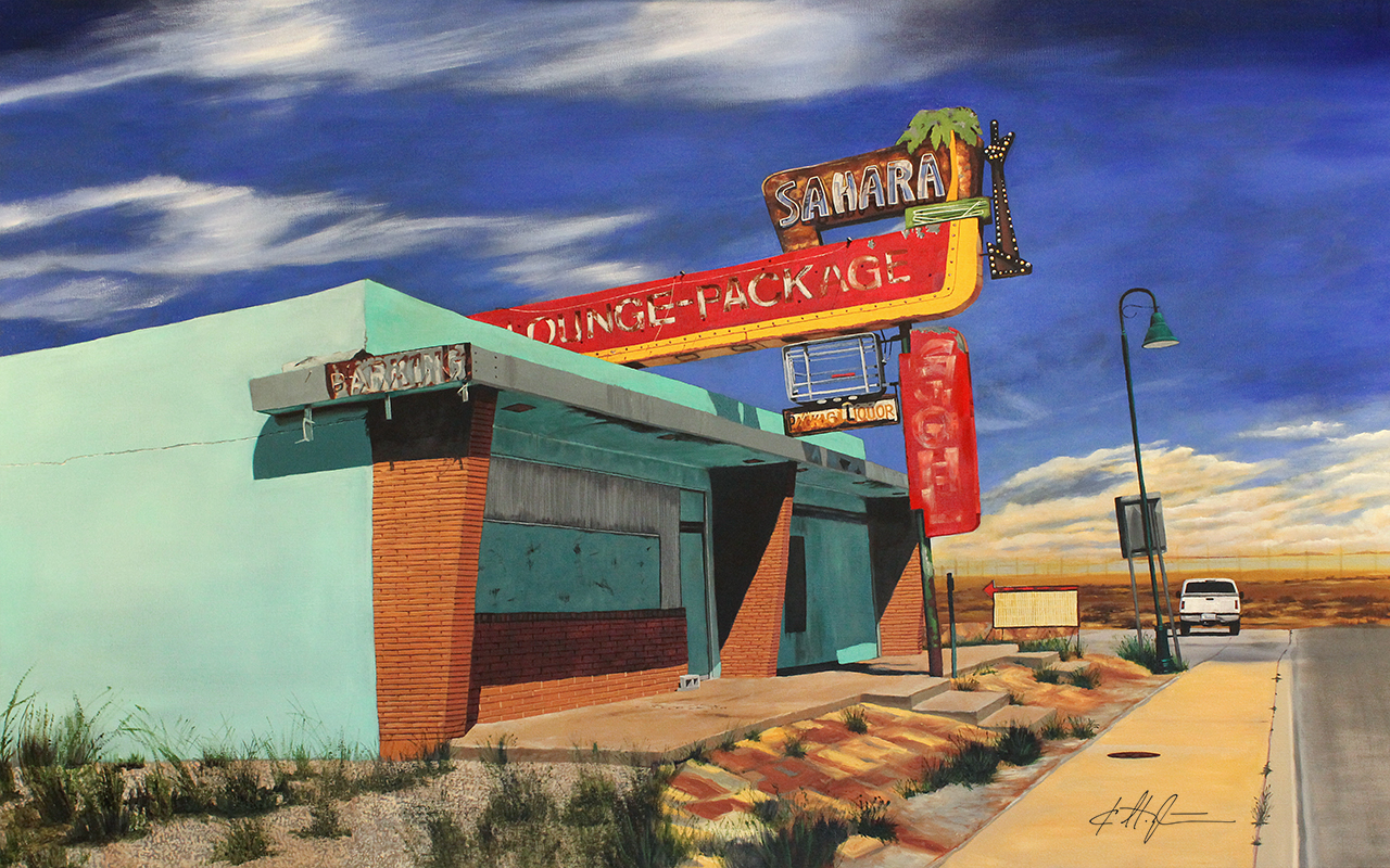 """Sahara Lounge, New Mexico"""