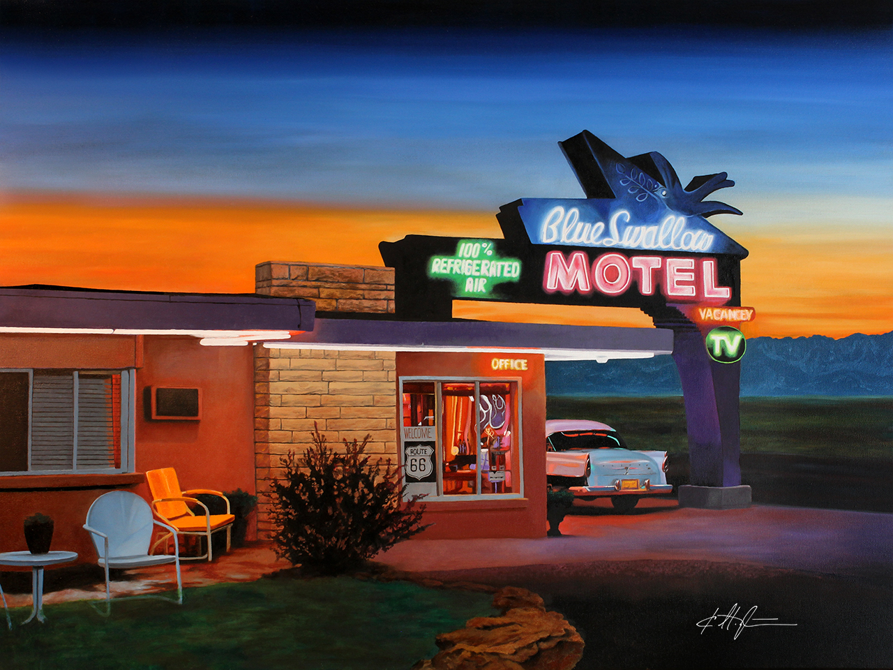 """Blue Swallow Motel"""