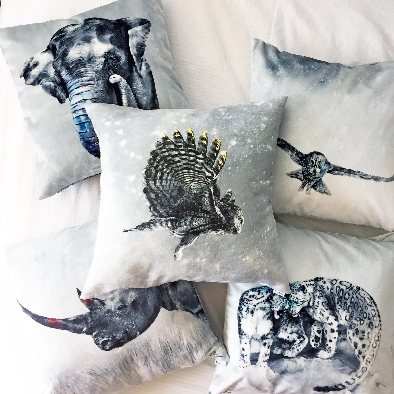 Scarce Pillow Prints