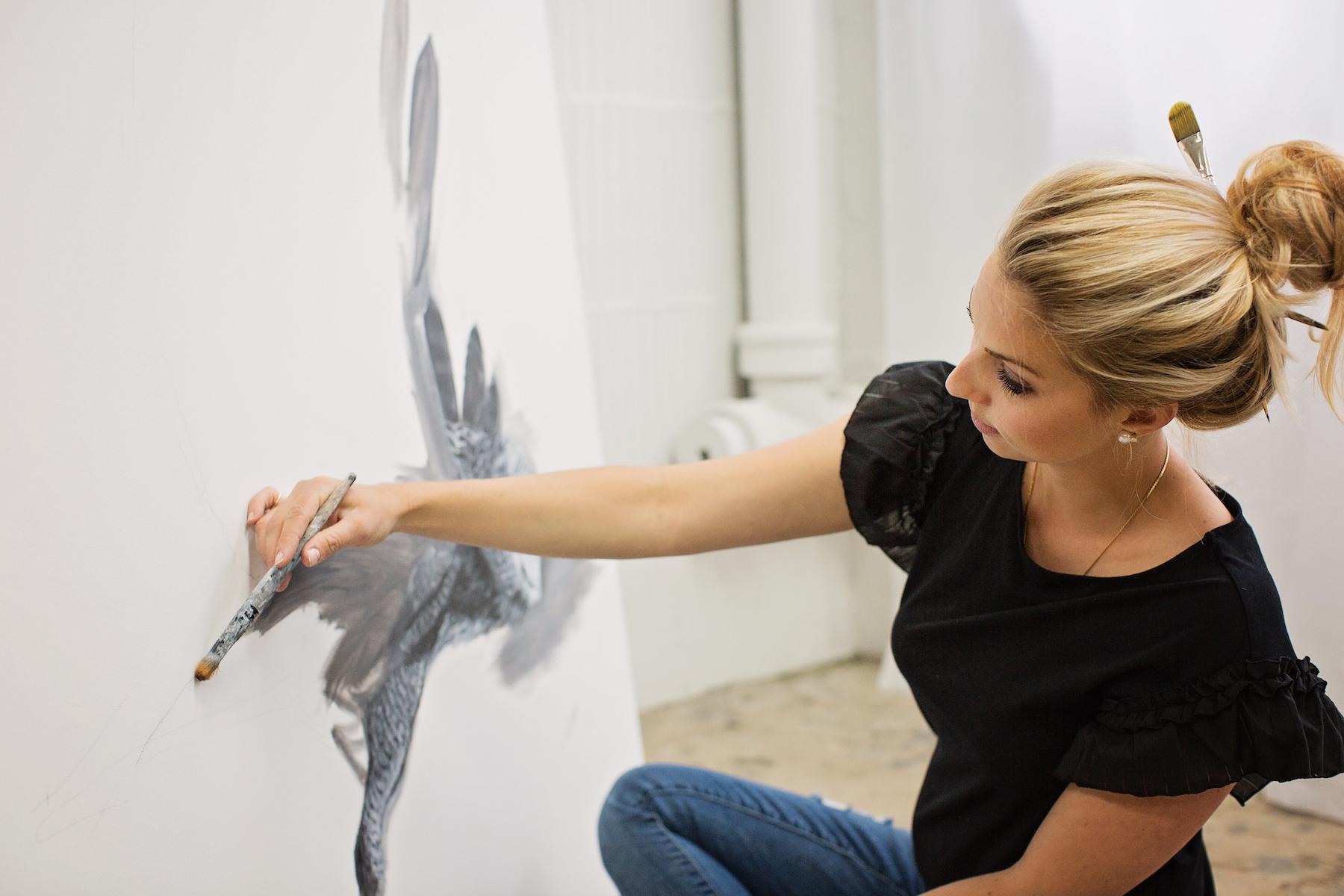 Aliarmstrong wildlife artist