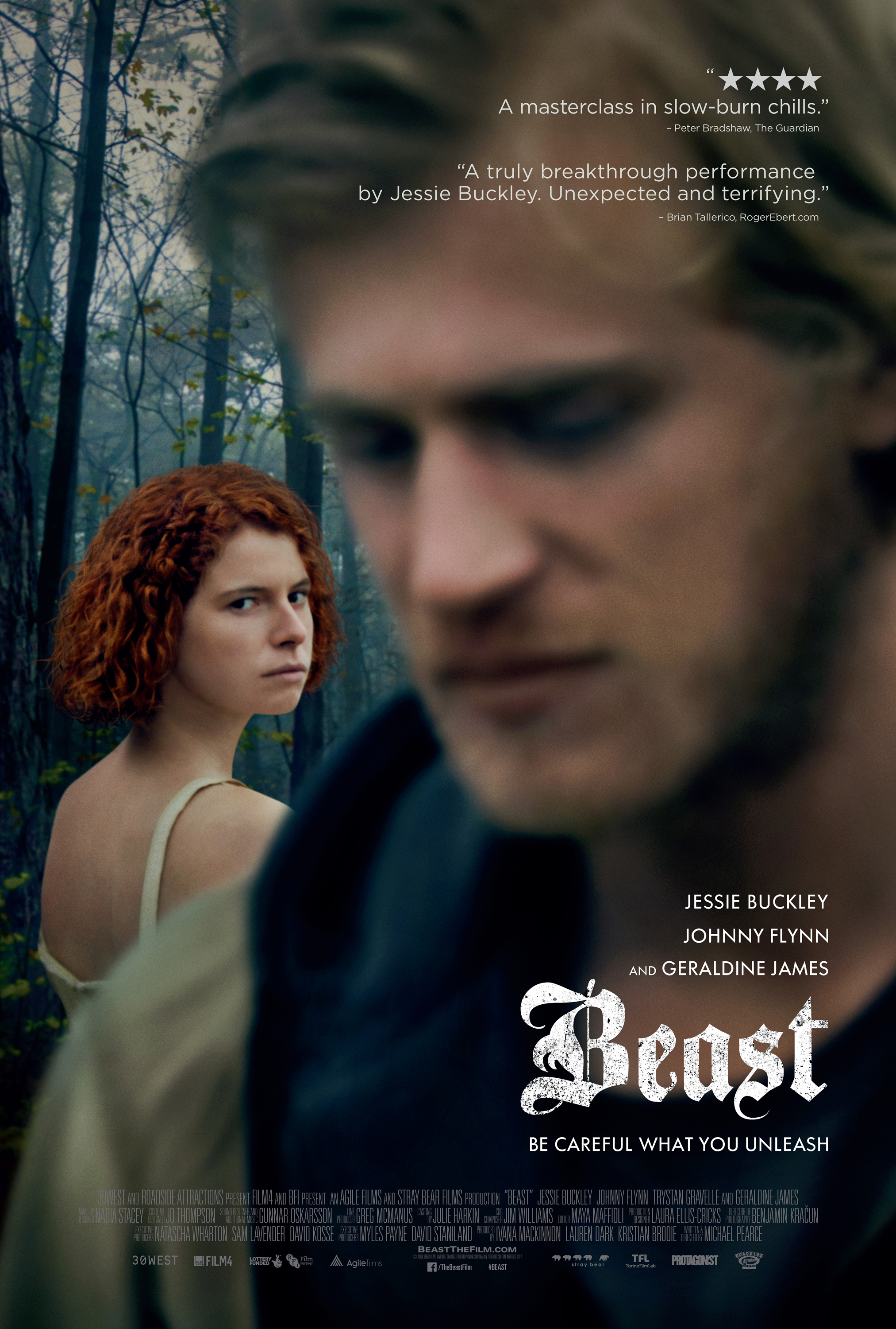 BEAST heads to the US with Roadside - Roadside Attractions are to distribute Michael Pearce's debut in the US, partnering with 30West who picked the feature up out of TIFF.Read the full release here.