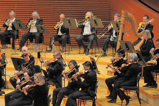 Kansas City Symphony seccion de metales conAdam Rainey