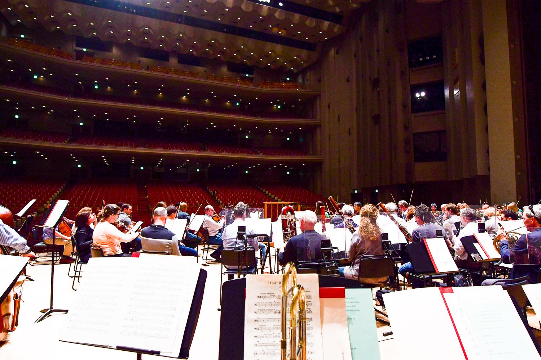 Dress rehearsal in Nagoya