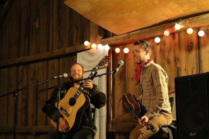 Birds, Birds, Birds - 1:15 p.m.Birds, Birds, Birds are a Madison duo that play of range of amusing and eccentric original bluegrass and folk songs. The Birds, Birds, Birds repertoire includes topics such as pizza drama, the farmer's daughter, muck boots and so much more. They're great fun!