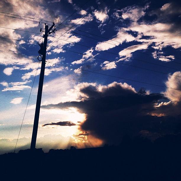 ☁⚡#vsco #vscocam #instamood #latergram #nature #clouds