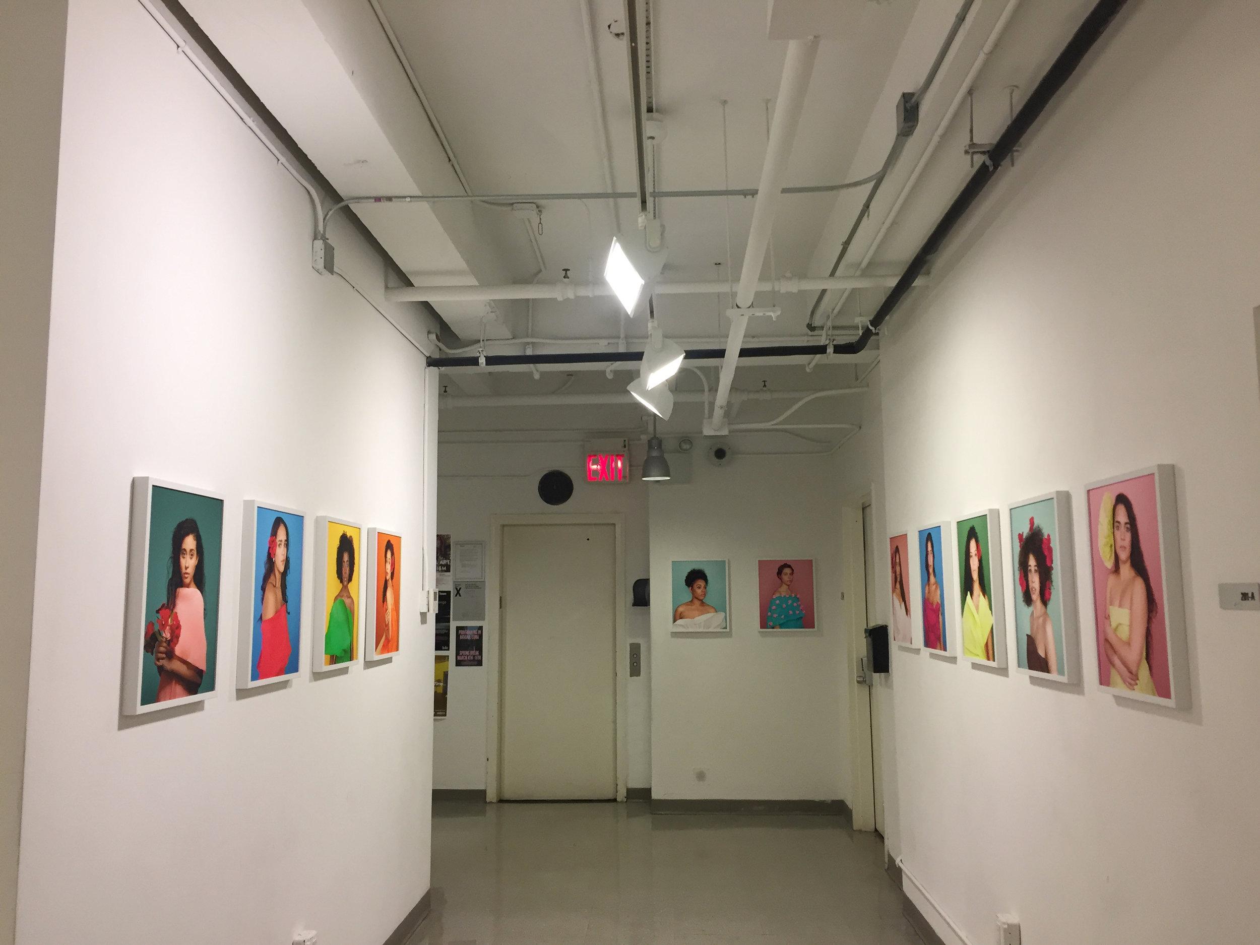 Flor de Mujer, School of Visual Arts, NYC