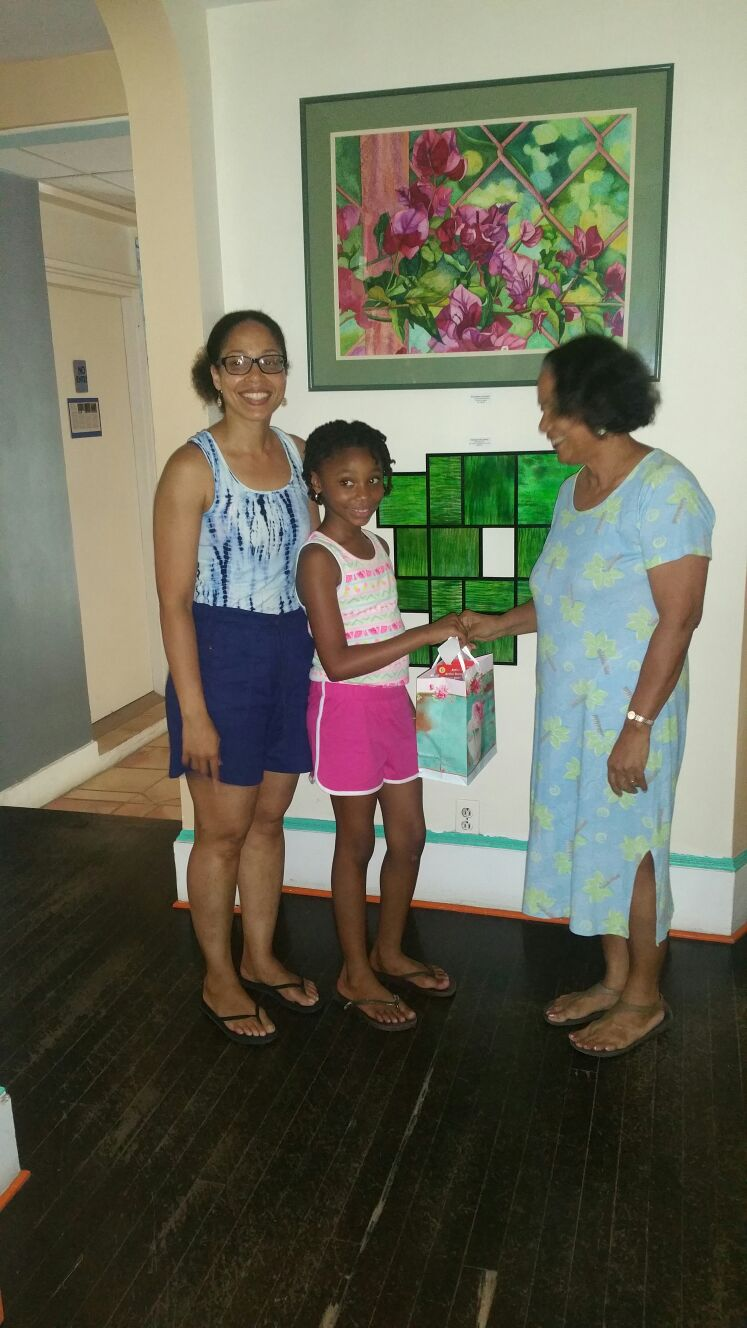 Hannah and her mum's donation 2016.jpg