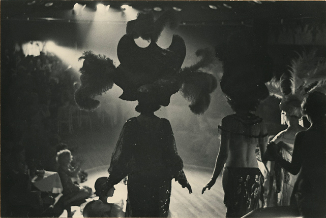 Night Club, Floor Show. The Paradise, New York,   1933. Vintage Gelatin Silver Print, printed ca. 1934. Image measures 5 7/8 x 8 7/8 inches. Inventory #C1418.  Terms  |  Inquire