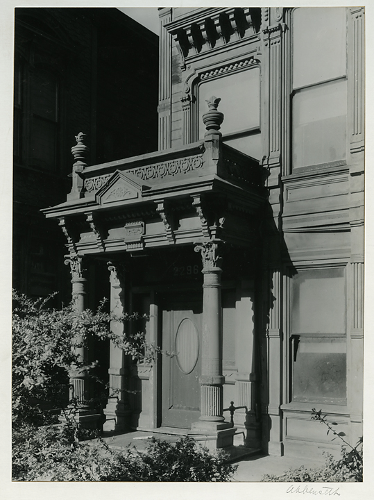 2270 Broadway, San Francisco,   Ca. 1936. Vintage Gelatin Silver Print. Signed in pencil on mount front. Federal Art Project stamps, title and data on mount back. Image measures 9 1/2 x 7 inches. Inventory #C1640.  Terms  |  Inquire