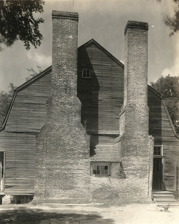 Locust Hill, Port Tobacco, Charles County, Maryland,   1937. Vintage gelatin silver print. Johnston's credit stamp on back. Image measures 9 7/16 x 7 1/2 inches. Inventory #C1389.  Terms  |  Inquire