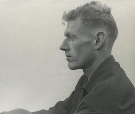 Chester Kessler.  Self-portrait,  ca. 1950.