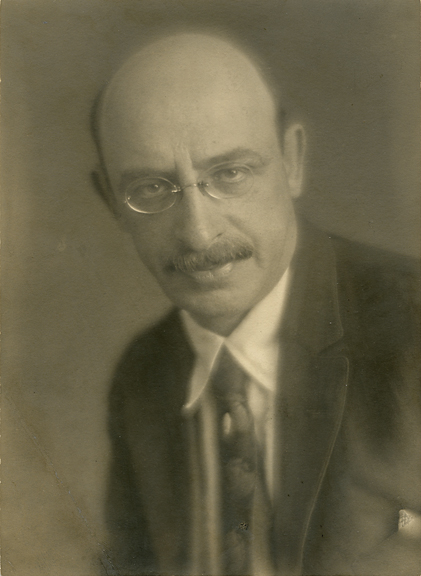 Alexander Berkman,   1915. Vintage gelatin silver print. Image measures 6 7/8 x 4 7/8 inches. Titled and dated on print verso. Inventory #MM018.  Terms     Inquire
