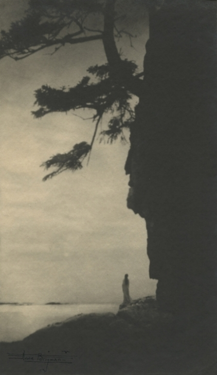Infinitude, 1910  . Vintage gelatin silver print. Signed in ink on image. Image measures9 5/8 x 5 1/2 inches. Inventory #AL007.  Terms  |  Inquire