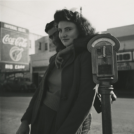 Dorothea Lange.     Macdonald Avenue, Richmond, California,  1942.  Gelatin silver print, ca. 1950.