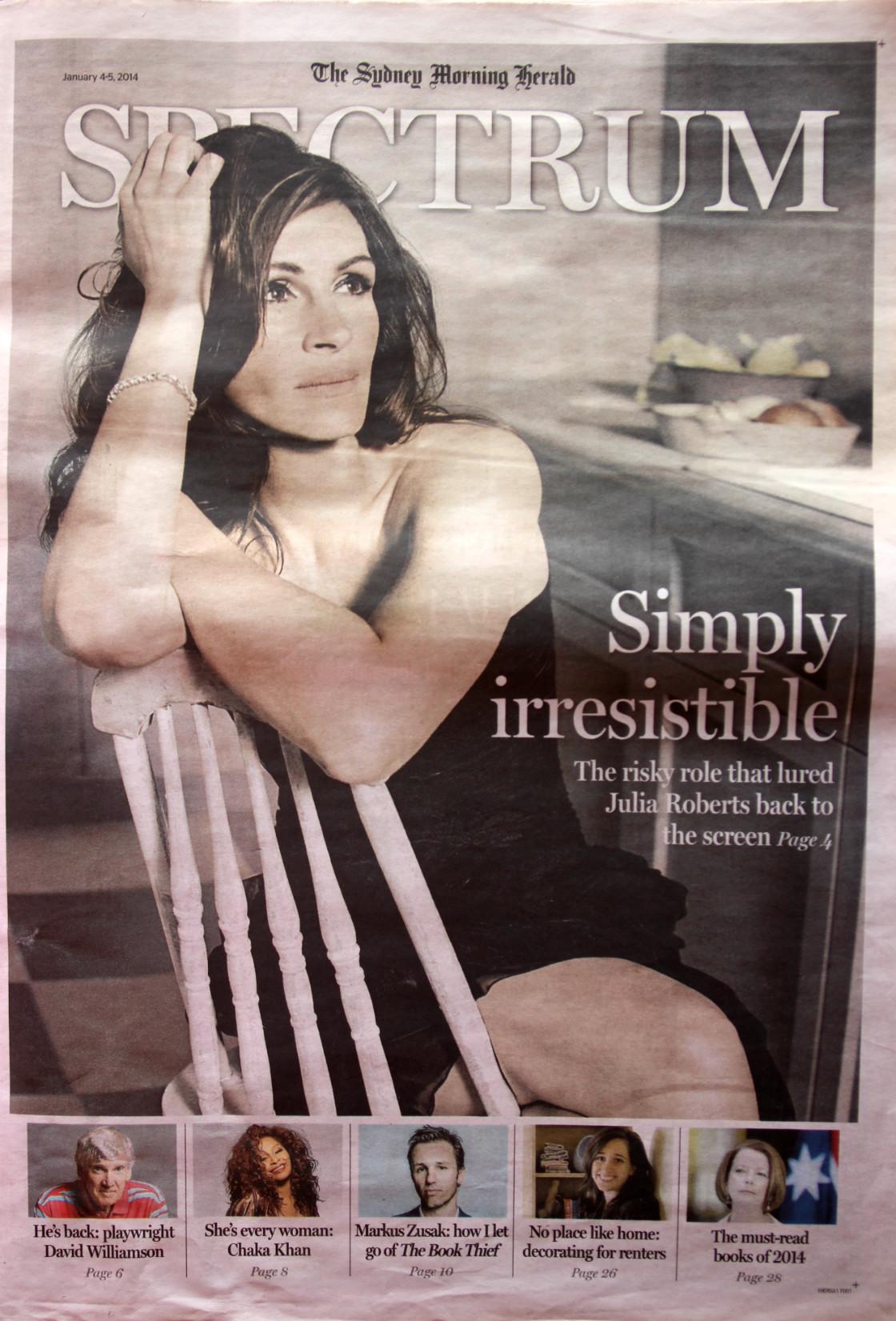 Sydney Morning Herald January 2014