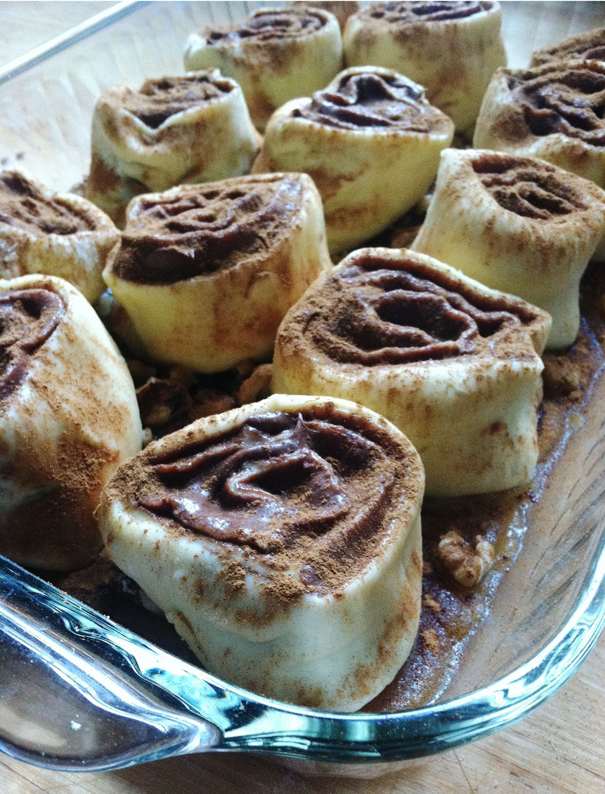 Nutty Nutella Morning Buns    Photo credit: Shawn Weston
