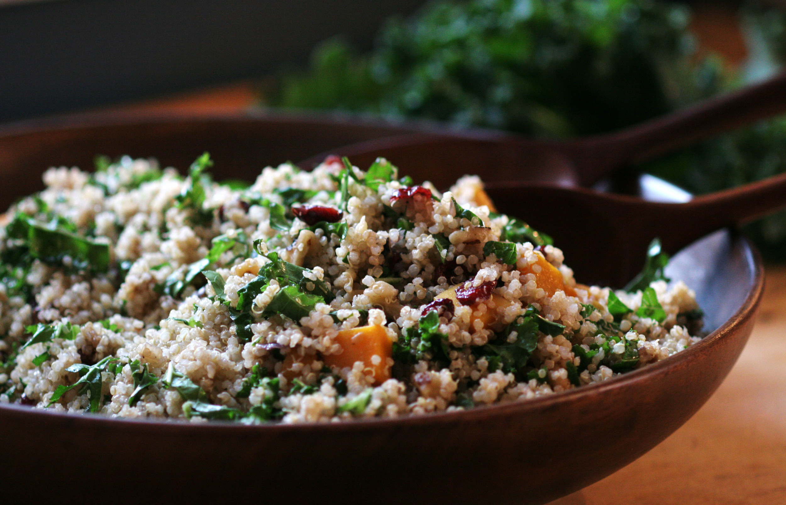 This salad is a great dish to bring to a holiday potluck.                                                                                               Photo: Rachel J. Weston