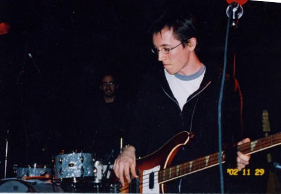 On tour with Gentleman Reg 2002