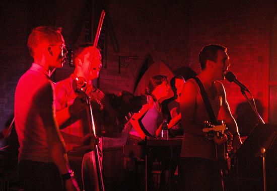 Hidden Cmaeras at Music Gallery 2007